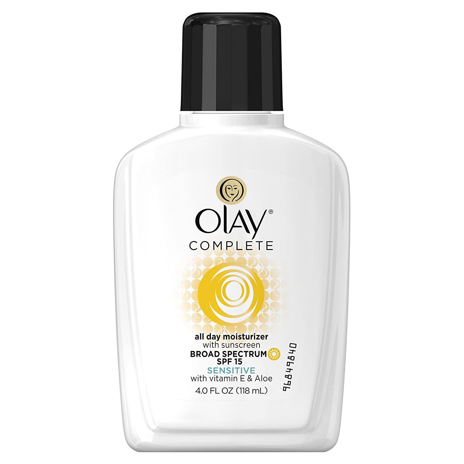 Face Moisturizer by Olay, Complete All Day Moisturizer With Sunscreen Broad Spectrum SPF 15 - Sensitive, 4 fl. Oz, 1 unit