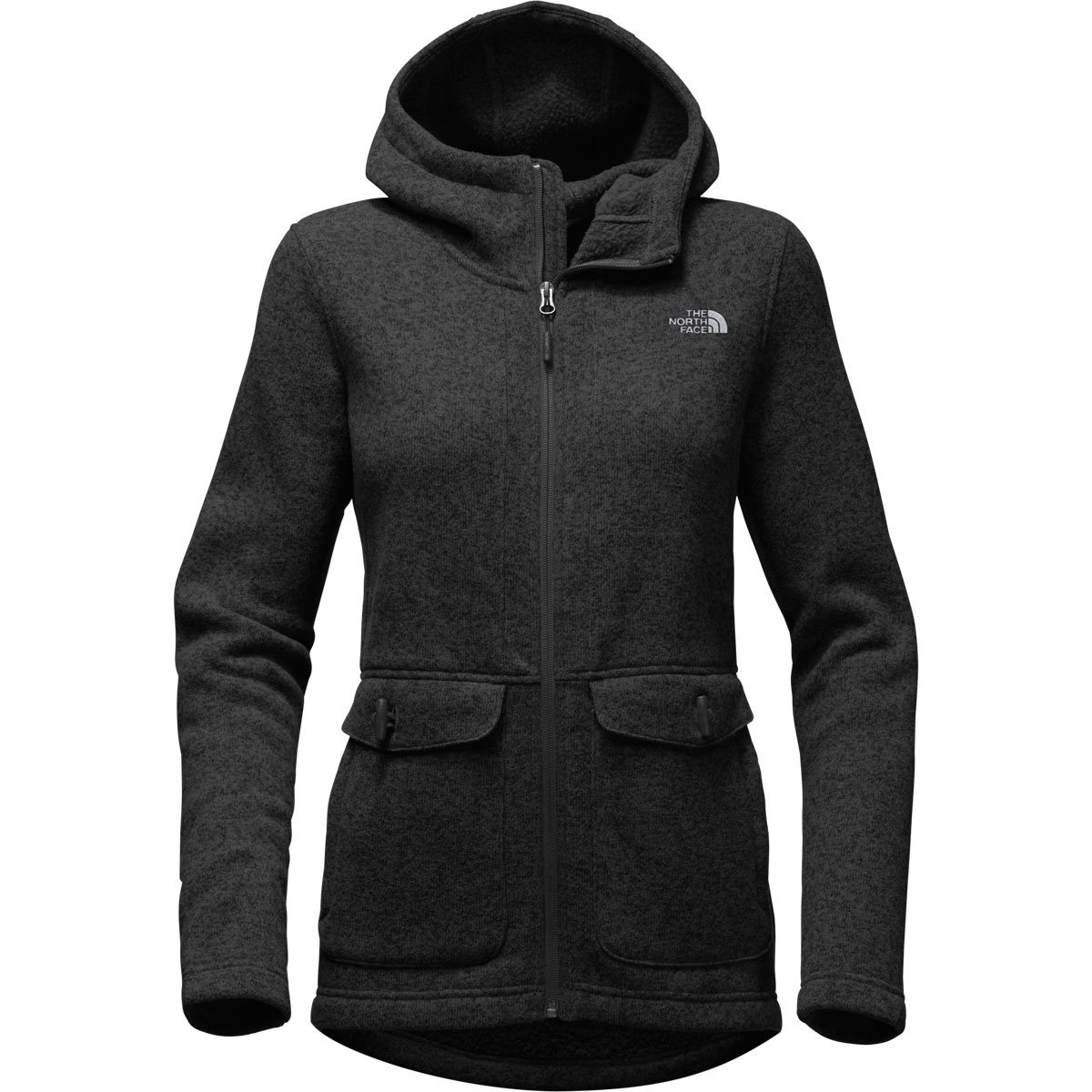 The North Face Women's Crescent Parka - Black Heather - S (Past Season)