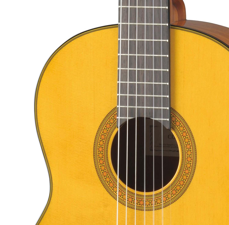 yamaha cg142c cedar top classical guitar musical