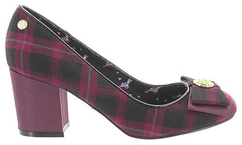 Babycham Mujer Amazon Cerrado Complementos De Y Zapatos es Tela pRPFpOrx