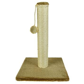 ASAB Max Care - Soporte para mascotas sin gato, para rascar y rascar postes de sisal, alfombras y rascadores con juguete para colgar: Amazon.es: Productos ...