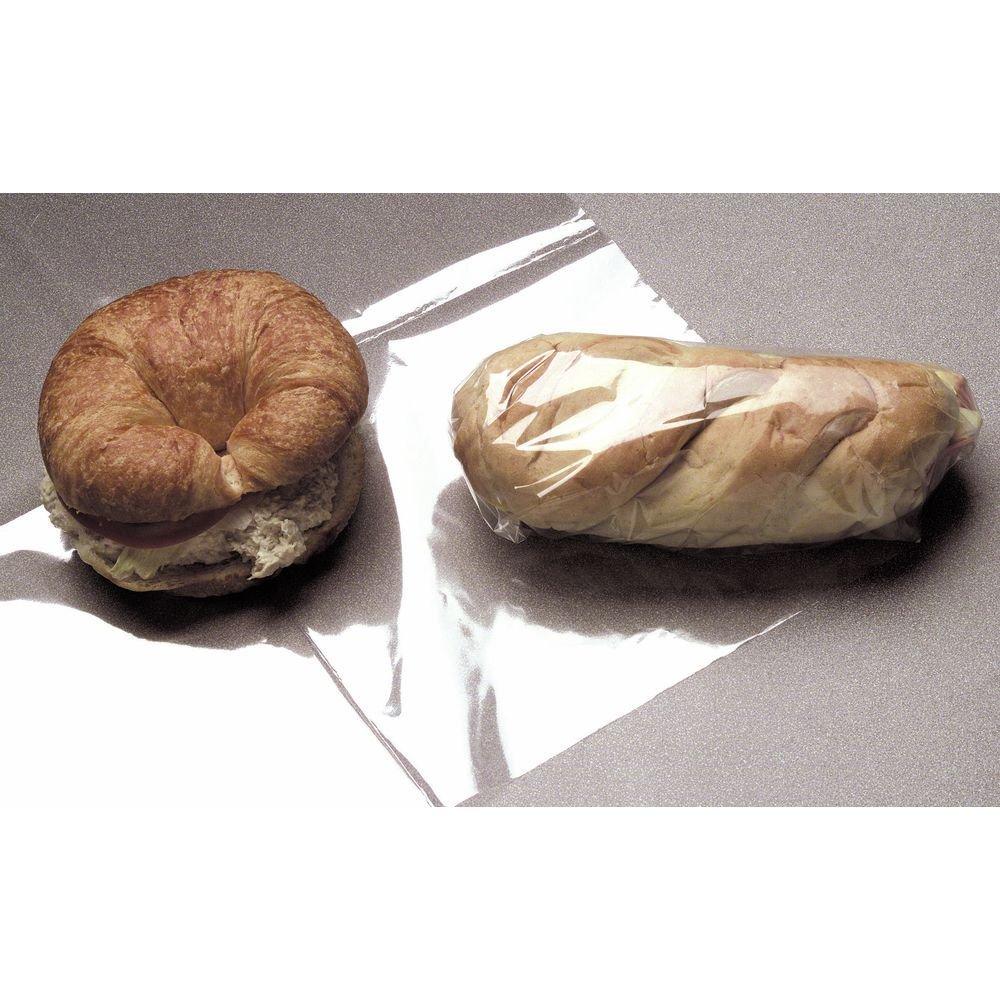 Sandwich Wrap Clear 75 Gauge BOPP Film - 15''L x 15''W 5000 Per Case