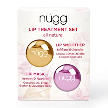 1bb21e72fbf Amazon.com   nügg Lip Care Treatment Set for Dry