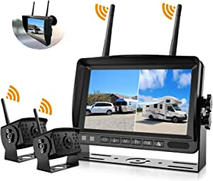 2pcs Brackets for DOUXURY Wireless Backup Camera