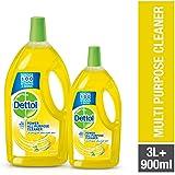 Dettol Lemon Healthy Home All- Purpose Cleaner 3LT + 900ml