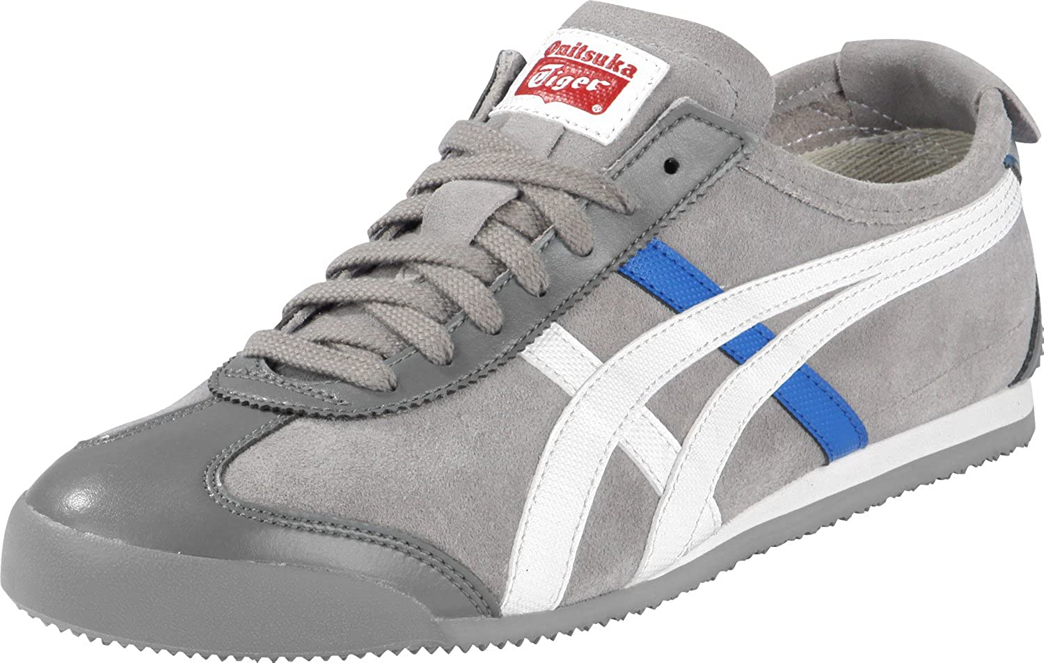reputable site e50a1 90187 Onitsuka Tiger Trainers Shoes Mens Mexico 66 Olive Green [11 ...