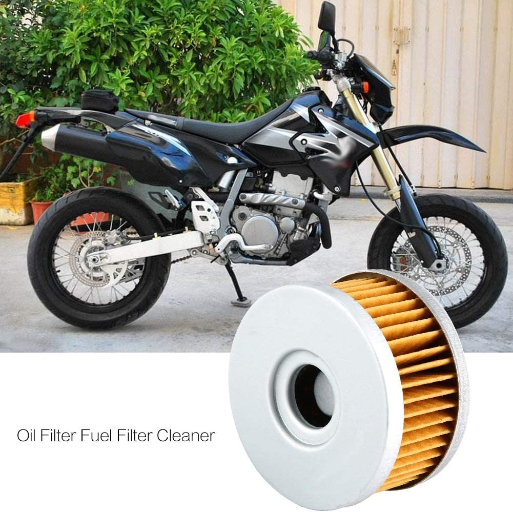 Fit for GN250 Motorcycle Stable Performance High Filtration Efficiency Oil Filter Fuel Filter Cleaner Oil Filter