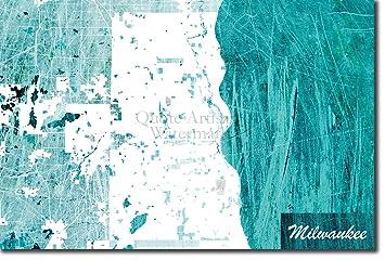 Amazon Com Best Quality Prints Milwaukee Wisconsin Usa Original