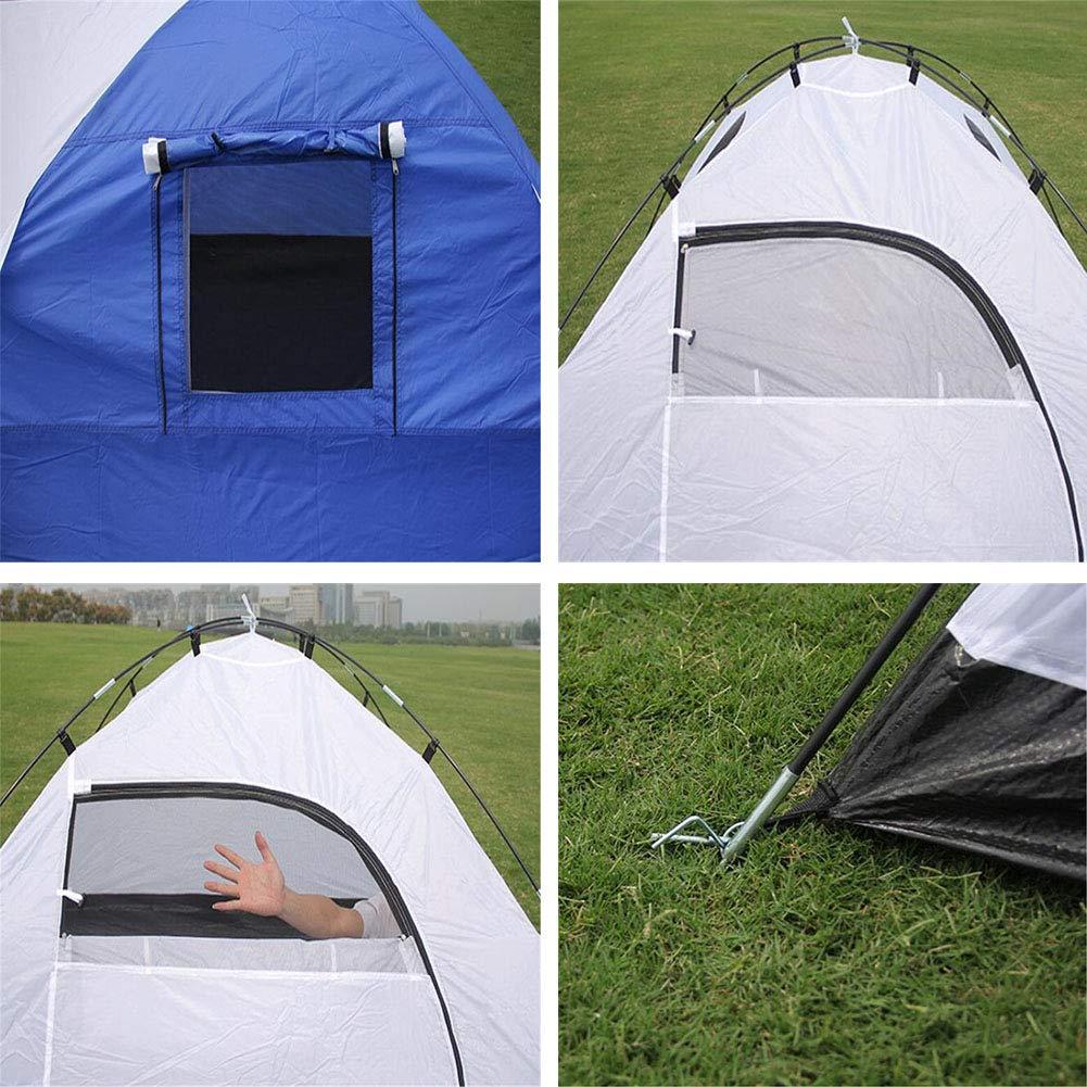 Zelt, Outdoor One Camping One Room und One Outdoor Living Room Zelte 3-4 Person Waterproof Double Layer OverGrößed Space Zelt f011b7