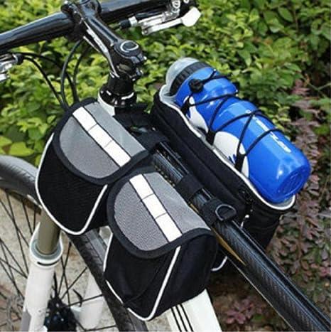 Bolsa para manillar 3 en 1 manillar bolsa bicicleta alforja para ...