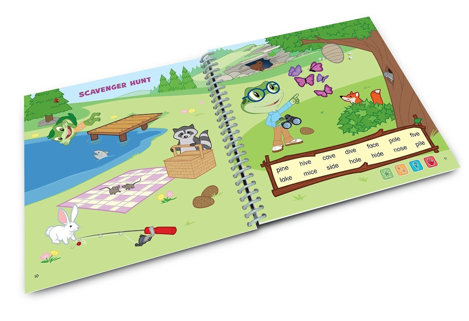 LeapFrog LeapStart Level 3 Kindergarten Book Bundle with Reading Adventures and Cook It Up! Math by LeapStart (Image #3)