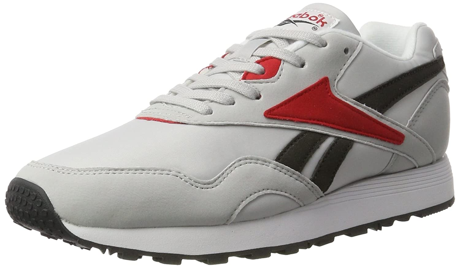 Reebok Herren Rapide Mc90 Sneaker  41 EU|Grau (Lgh Solid Grey/Coal/Primal Red/White/Black)
