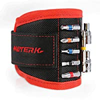Deals on Meterk Magnetic Wristband 10 Powerful Magnets Tool Belt MKMW01