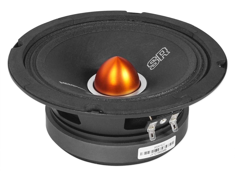 """PAIR MEMPHIS SRXP62 6.5/"""" 250W COMPONENT PRO SPL SPEAKERS 6 1//2/"""" CAR AUDIO NEW"""