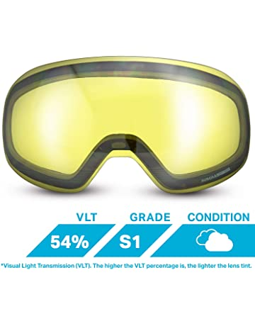 05ff038963ef WildHorn Outfitters Roca Extra Replacement Frameless Snow Goggle Lens