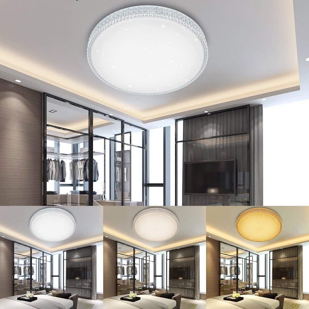 Deckenlampen & Kronleuchter Led Deckenleuchte Eckig Flur Leuchte Badezimmer Deckenlampe Bad Leuchte Lime Heller Glanz