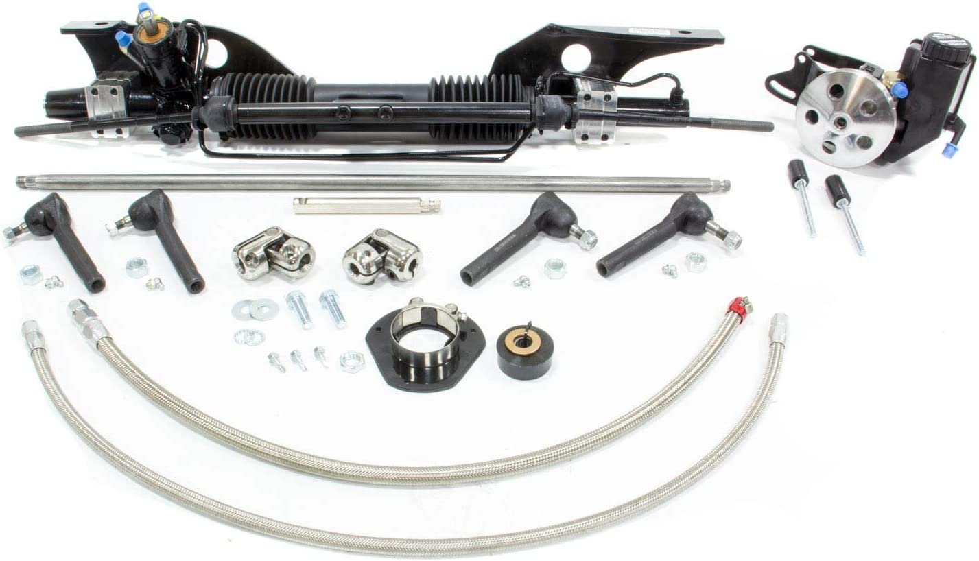 Unisteer 8010820-01 Power Rack and Pinion Kit for Ford Mustang