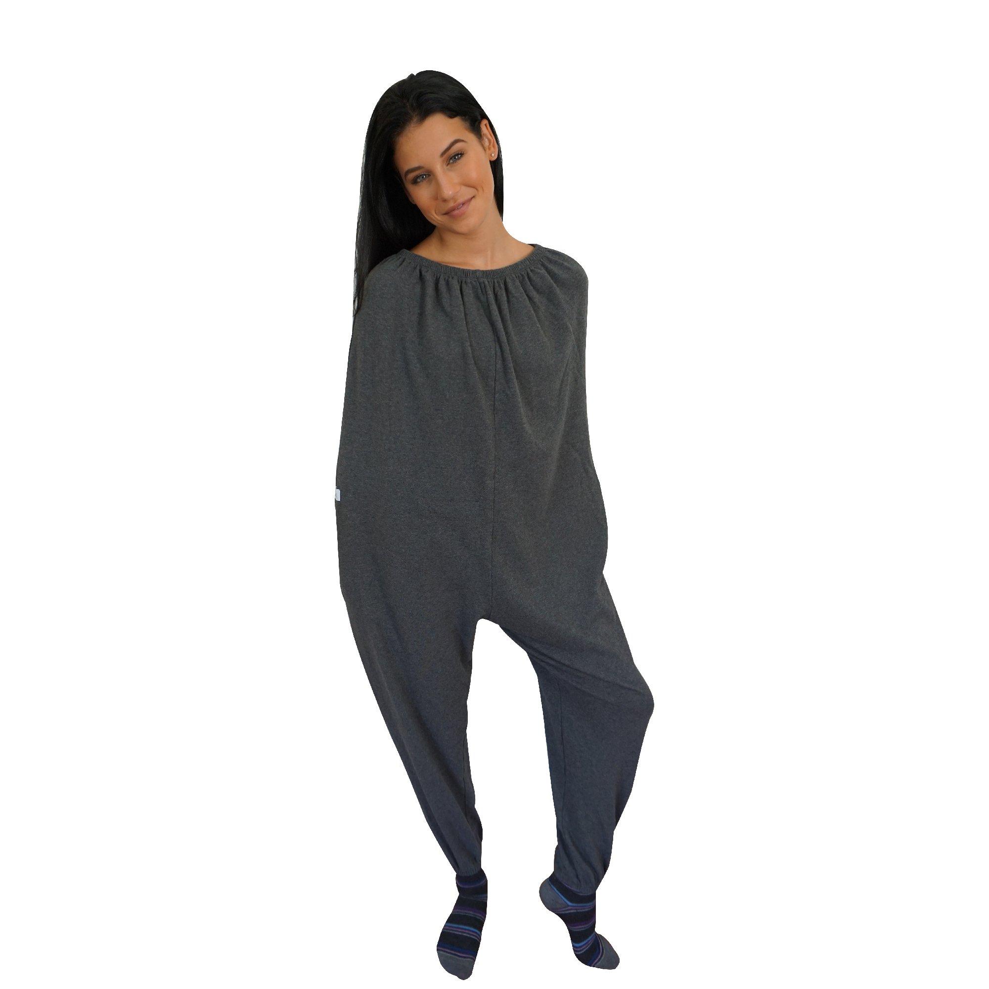 Cocoonsie Wearable Blanket (Medium, Charcoal)