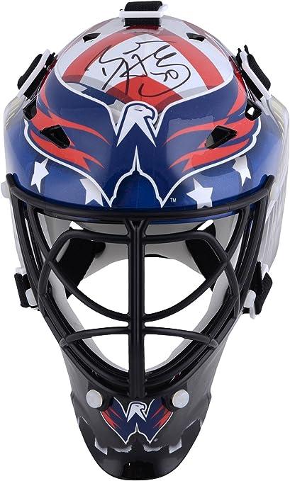 Amazon Com Braden Holtby Washington Capitals Autographed Mini Goalie Mask Autographed Nhl Mini Helmets And Masks Sports Collectibles
