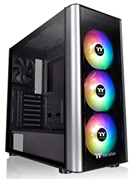 Thermaltake Level 20 MT ARGB Midi-Tower Negro, Plata Carcasa ...