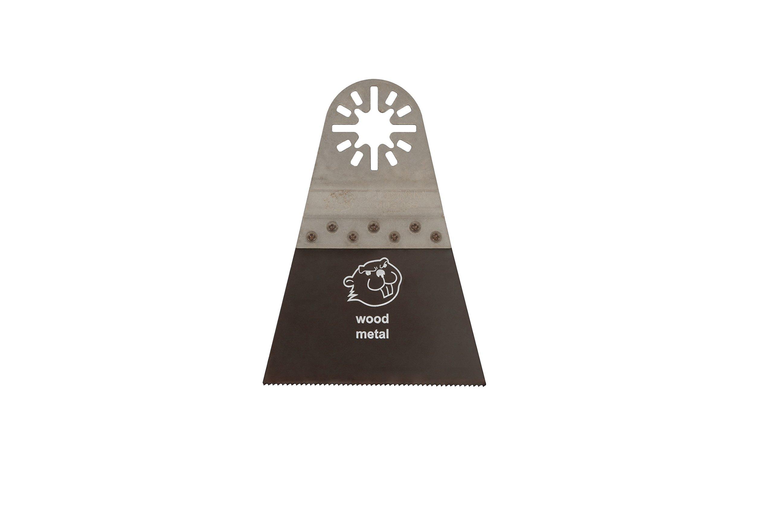 Coram Tools MUB 065 10 2-9/16'' Universal Tooth Bi-Metal Multi-Tool Blade (10 Pack)