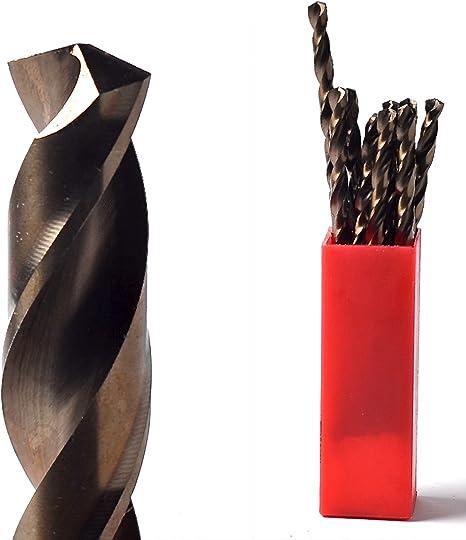 2 x 1mm Cobalt Drill Bit For Drilling Hard Abrasive Material Iron Steel etc