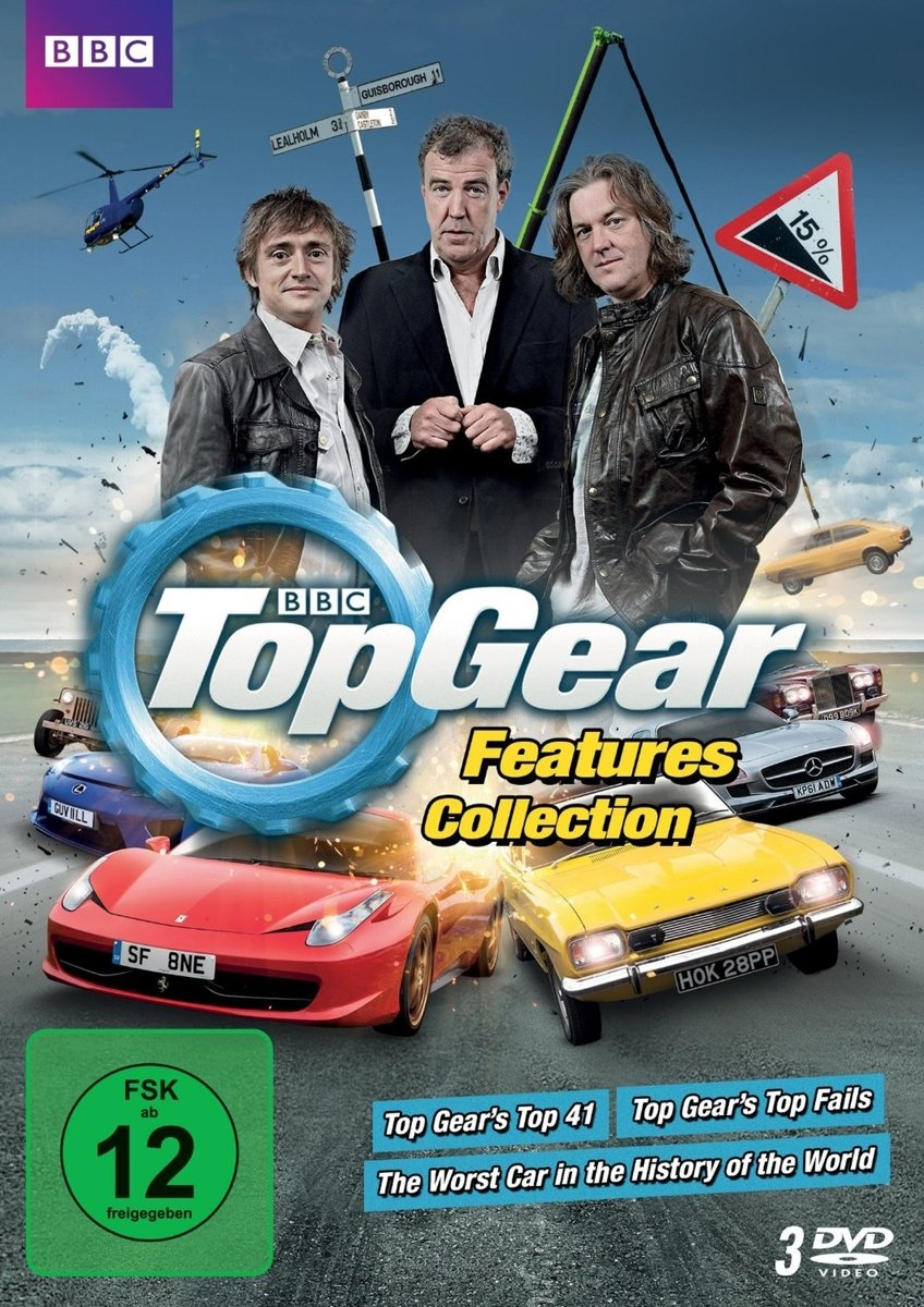 Top Gear Features Collection [3 DVDs]: Amazon.es: Jeremy Clarkson, Richard Hammond, James May, diverse, Jeremy Clarkson, Richard Hammond: Cine y Series TV