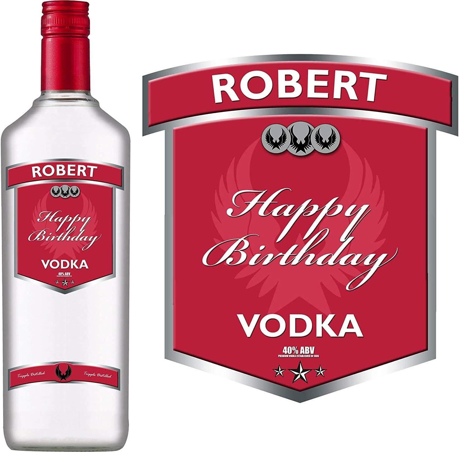 Party People 1 x Etiqueta DE Botella DE Vodka Personalizada ...