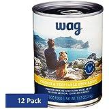 Amazon Brand - Wag Wet Dog Food Stew Recipe 13.2 oz (Pack of 12)