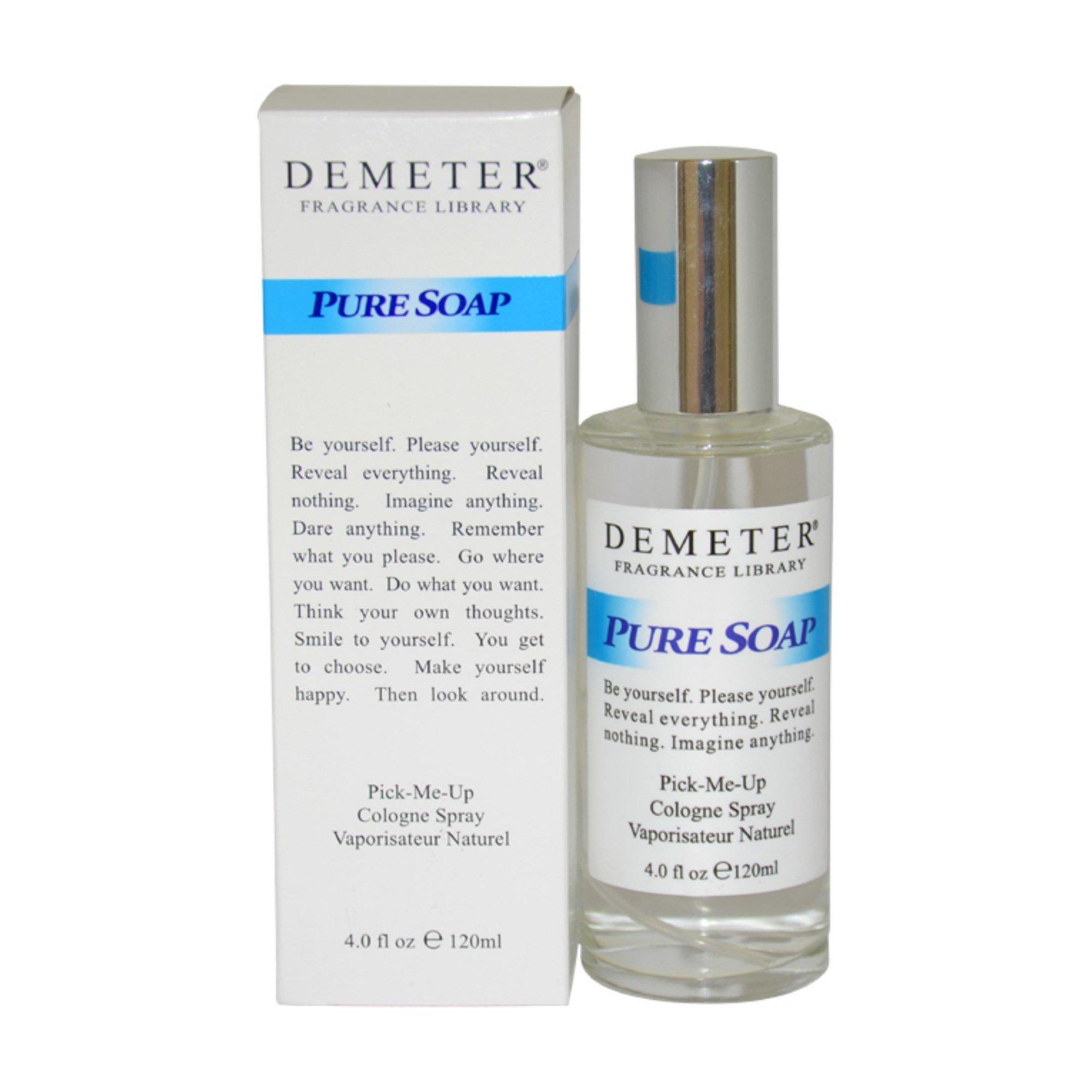 Demeter Pure Soap Women Cologne Spray, 4 Ounce