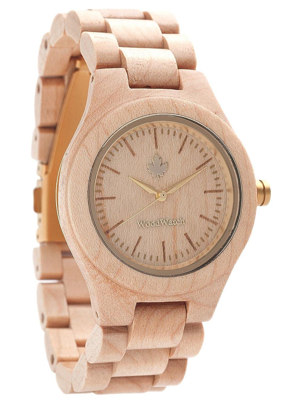WoodWatch Femme Gold Damen-Armbanduhr femme-gold