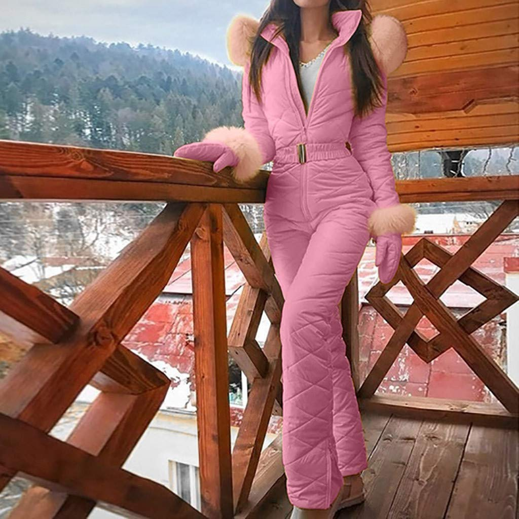 Tute da Sci Invernali da Donna Tute da Neve Snowboard Impermeabili Donna Inverno Caldo Tuta da Sci Impermeabile Snowboard Copertura Tuta da Sci Outdoor Sci Impermeabile Tuta Intera Take
