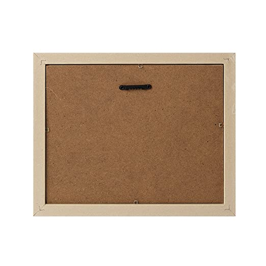 Balvi - Nebraska Marco de Fotos. Tamaño Foto: 13x18 cm. Modelo de Pared. Color: teka/Gris. Fabricado en plástico/Tela: Amazon.es: Hogar