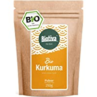 polvo de cúrcuma orgánica (250g) - Bio Curcumin