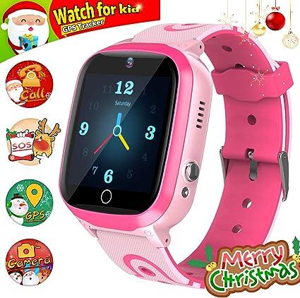 YENISEY Kids Smart Watch for Boys Smartwatch WiFi/GPS Tracker Watch, Kids GPS Tracker Watch Activity Tracker Digital Watch, Touch Screen HD Camera ...