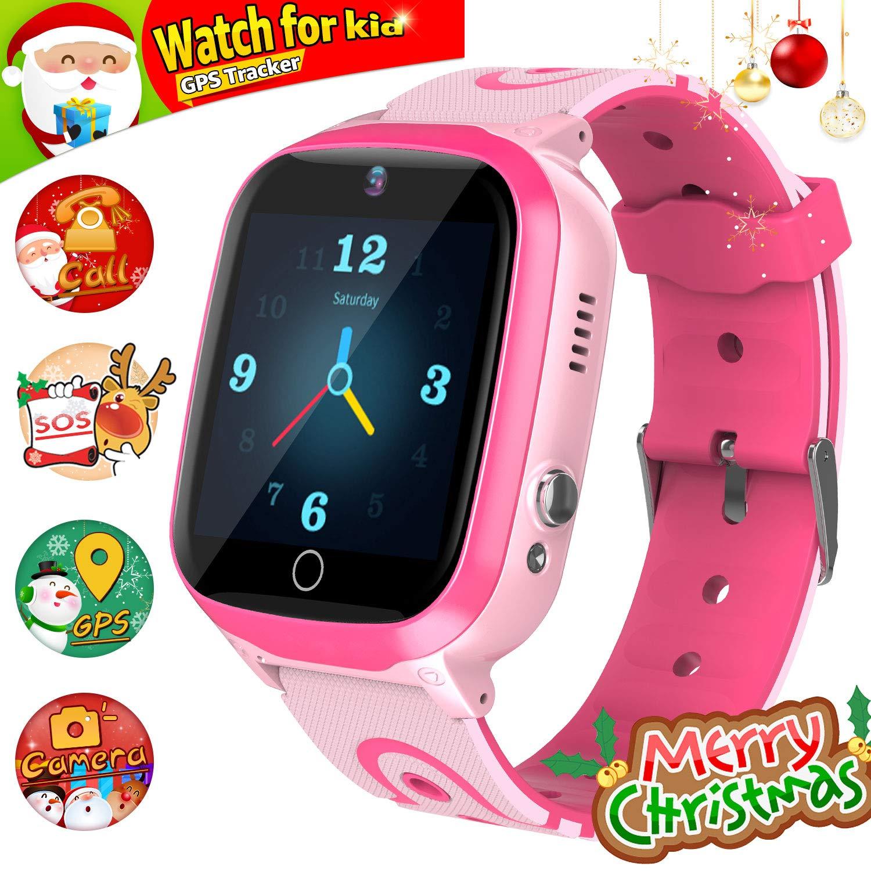 GPS Smartwatch, Reloj Impermeable para NiñOs Reloj Inteligente ...