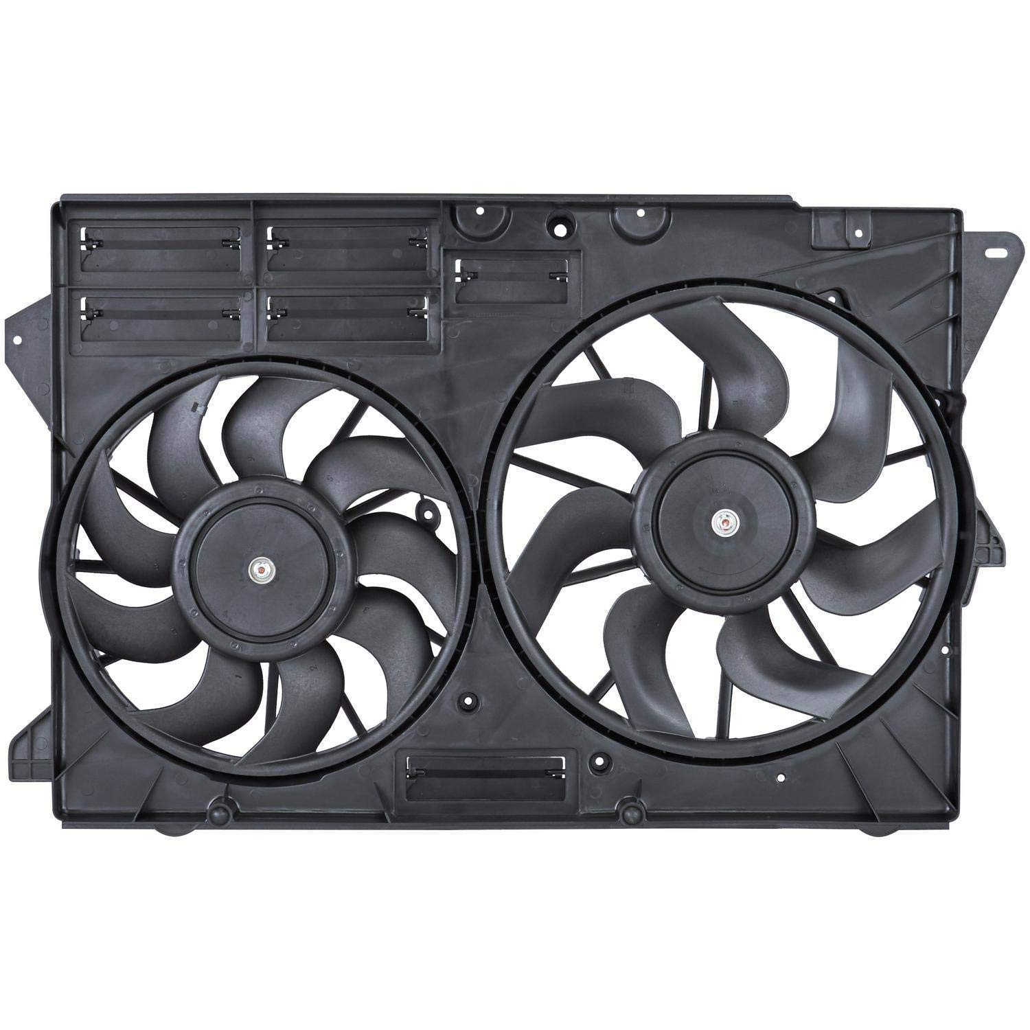 Spectra Premium CF15111 Dual Radiator And Condenser Fan Assembly