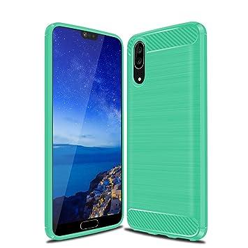 SDB Handy Huawei P20 Cover, gebürstet Simple: Amazon.de: Elektronik