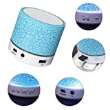 Portable Mini Bluetooth Speaker, Dr.Queen LED