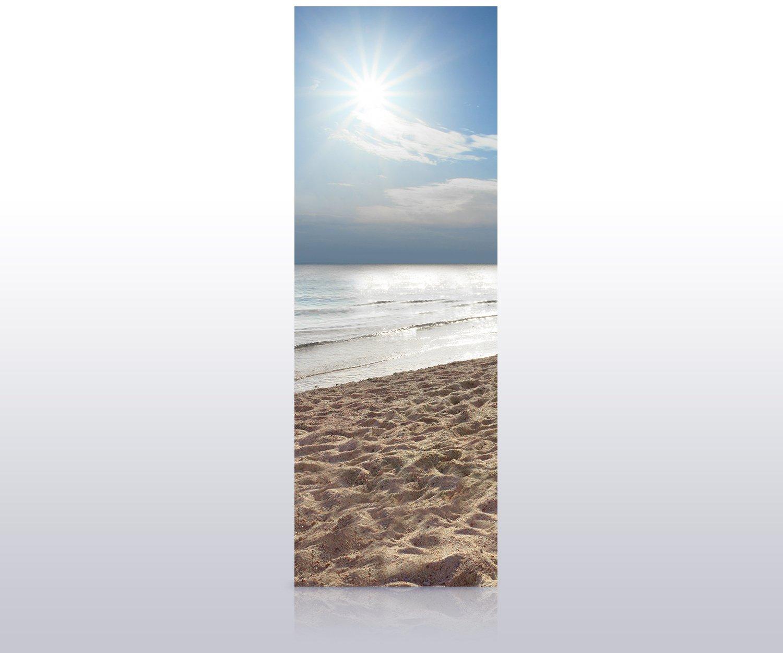- Papier Provinz Rayong Tapete T/ür T/üraufkleber T/ürbild Aufkleber M0899 70 x 200cm B x H wandmotiv24 T/ürtapete Ruhiger und friedlicher Strand