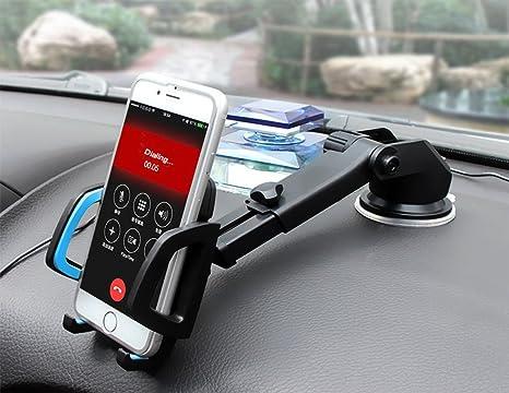 GoldFish - Soporte universal de ventosa de gel para coche o teléfono móvil, con ventosa