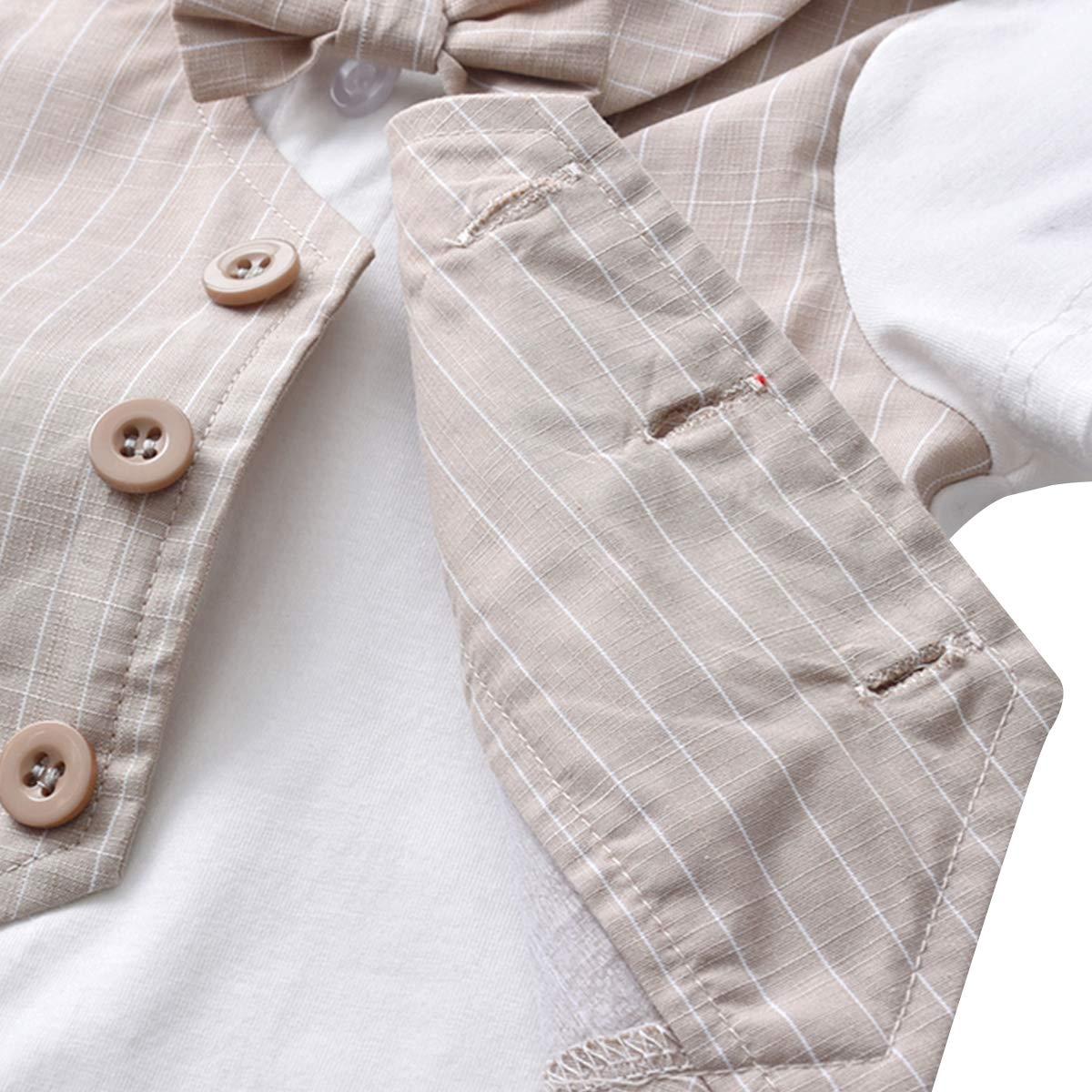 Kanodan Baby Jungen Anzug Taufe Hochzeit Babykleidung