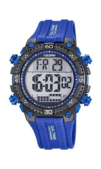 Calypso Watches Reloj Digital para Hombre de Cuarzo con Correa en Caucho K5701_3
