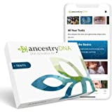 AncestryDNA + Traits: Genetic Ethnicity + Traits Test, AncestryDNA Testing Kit with 25+ Appearance and Sensory Traits, DNA An