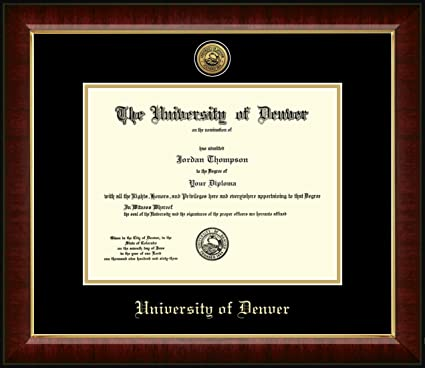 Arizona State University Gold Embossed Diploma Frame – Solid ...