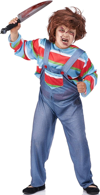 Disfraz de Muñeco Chucky para niño: Amazon.es: Juguetes y juegos