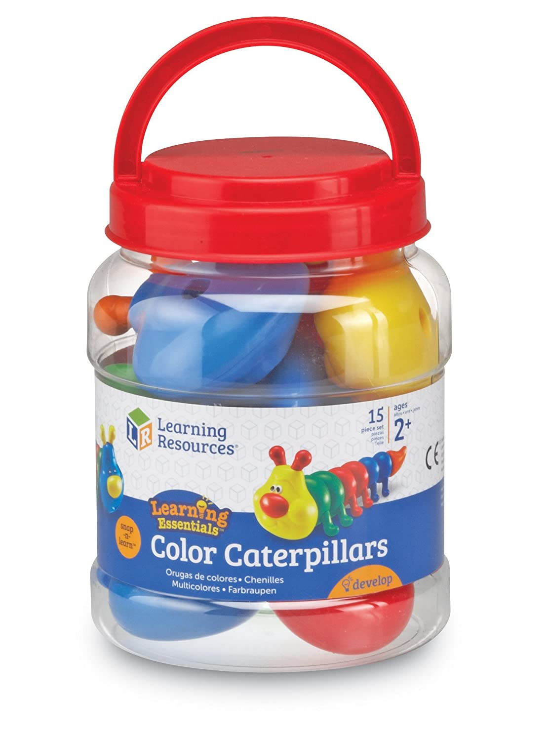 Learning Resources Snap-n-Learn Color Caterpillars LER6701