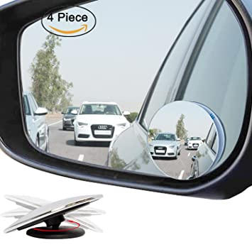 Amazoncom Ampper Upgrade 2 Blind Spot Mirrors 360 Degree