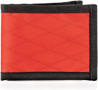 product image for Flowfold Vanguard Bifold Wallet Durable Slim Wallet Front Pocket Wallet Made in USA, Bifold (Red)
