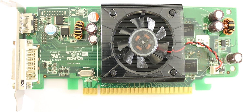 Dell F343F ATI RADEON HD 3450 256MB Video Card w/Fan Inspiron 530 535 531 Graphics